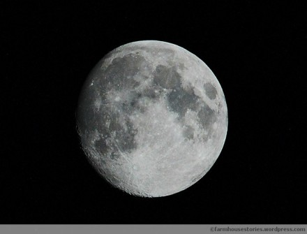The Moon, night of October 10, 2011